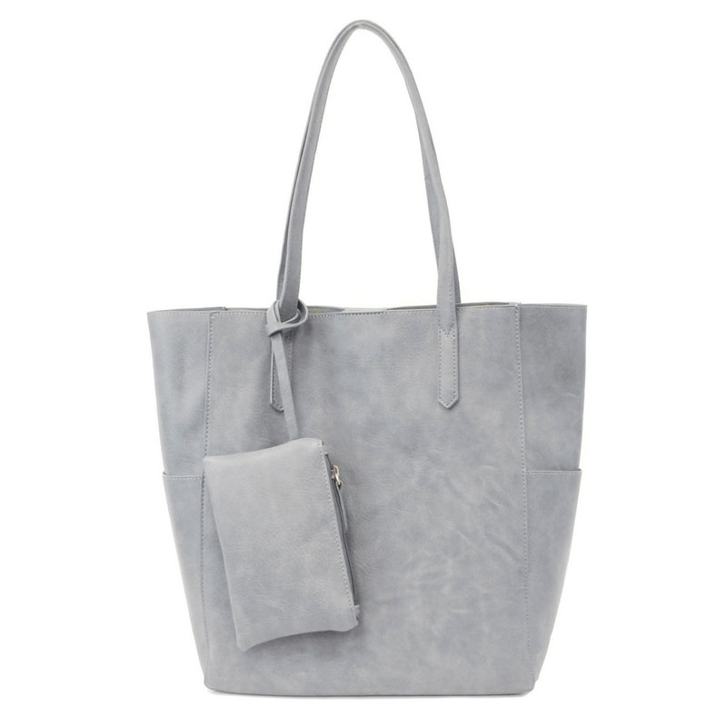 Joy Susan North South Bella Tote - Light Denim