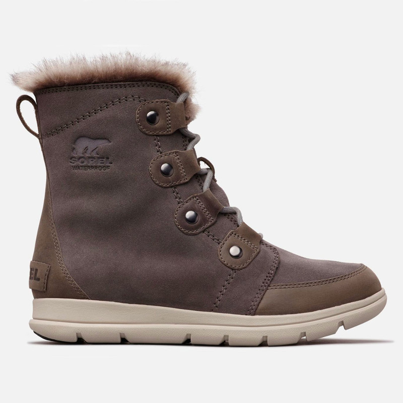 Sorel Women's Explorer Joan Boot - Quarry - 1808061-052 - Profile