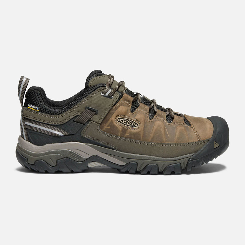 Keen Men's Targhee III Waterproof - Bungee Cord / Black