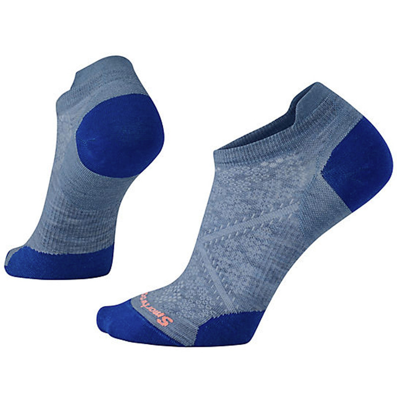 Smartwool Women's PhD Run Ultra Light Micro Socks - Blue Steel