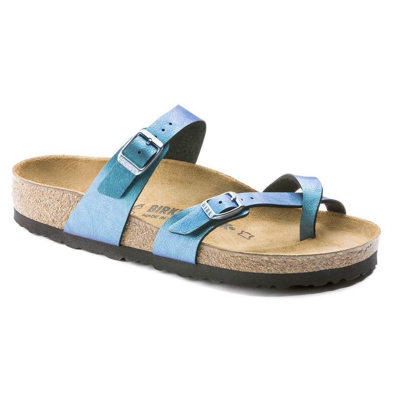 Birkenstock Women's Mayari - Graceful Gemm Blue Birko-Flor