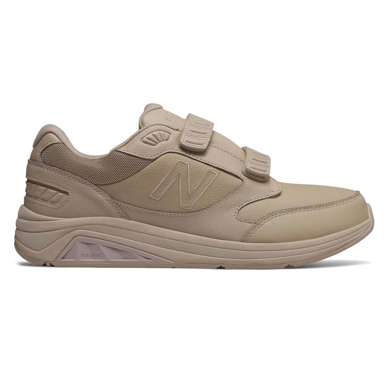 New Balance 928v3 Men's Hook and Loop Leather - Tan