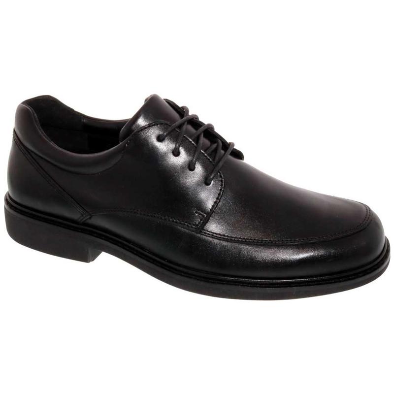 Drew Men's Park Oxford - Black Leather
