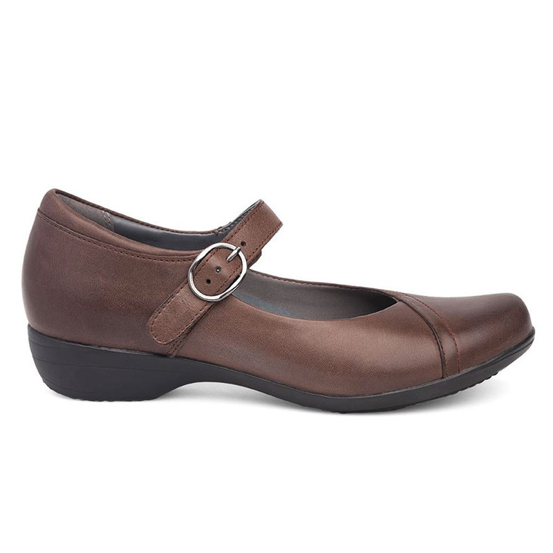 Dansko Women's Fawna - Chocolate Burnished Nappa