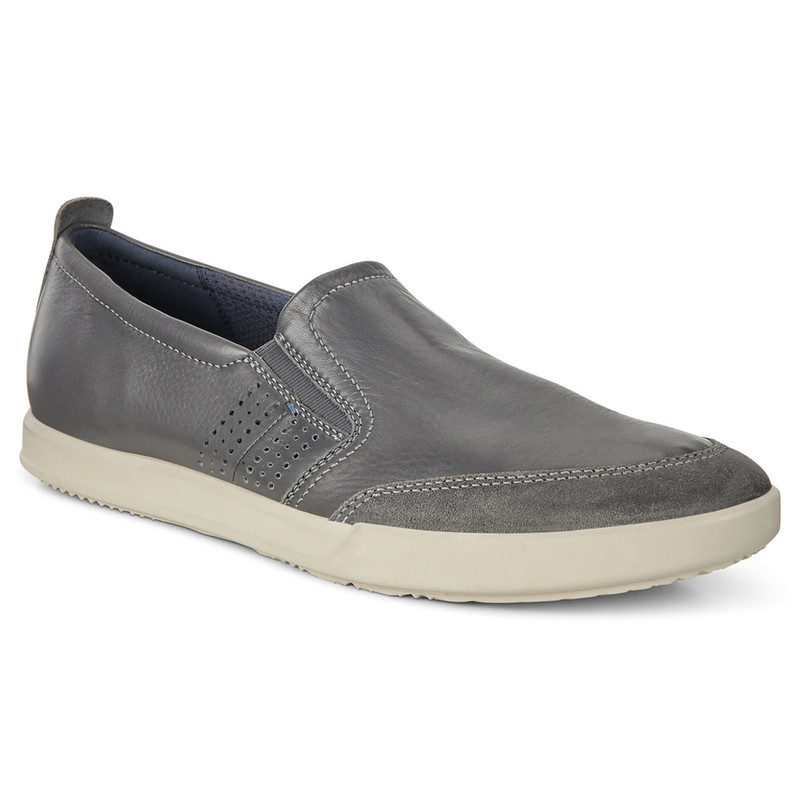 ECCO Men's Collin 2.0 Slip-on - Magnet / Magnet - 536214-50869 - Main