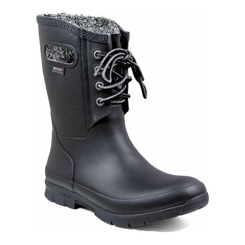 Bogs Women's Amanda Plush Boot - Black