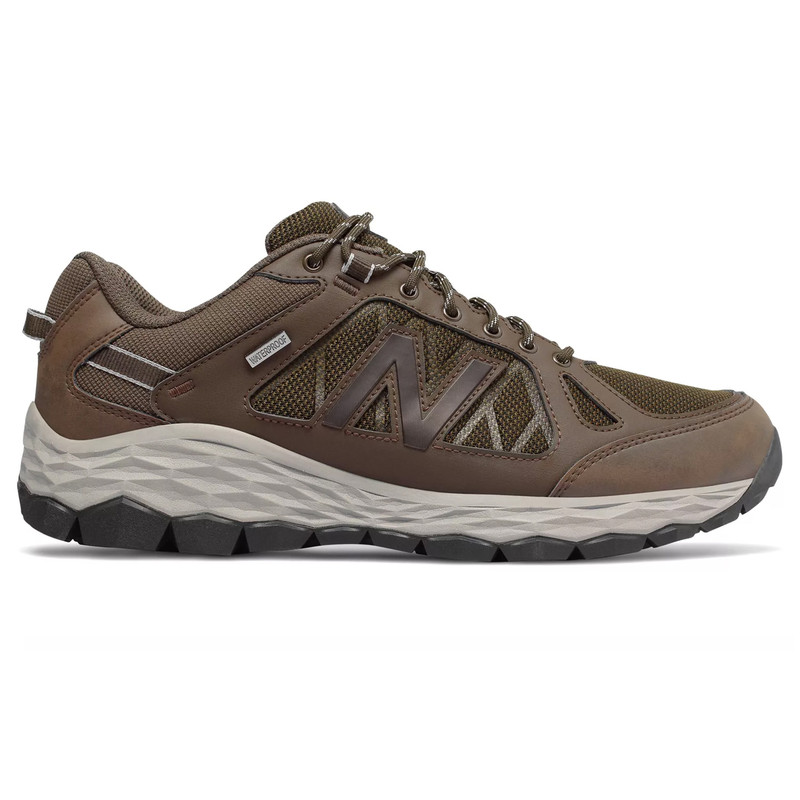 New Balance Men's 1350 Trail Walking - Brown / Team Away Grey