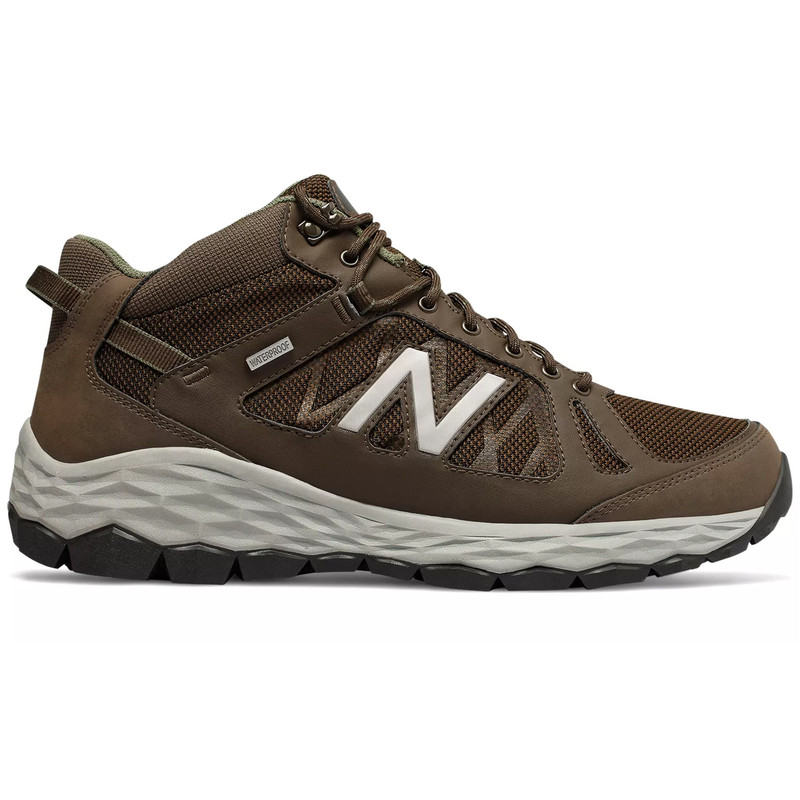New Balance Men's 1450 Trail Walking - Brown / Team Away Grey