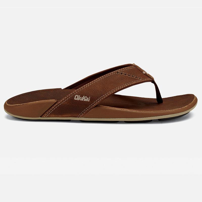 Olukai Men's Nui Sandal - Rum / Rum