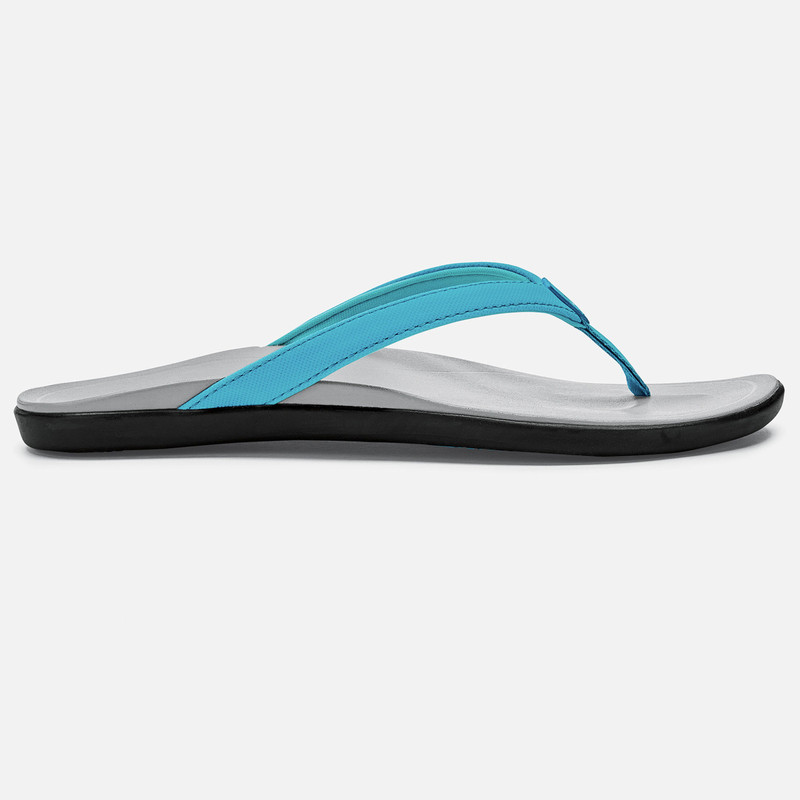 Olukai Women's Ho'opio Sandal - Blue Crush / Pale Grey