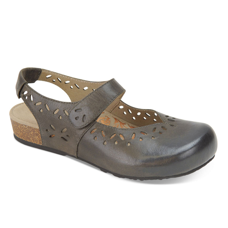 Aetrex Women's Cheryl Slingback Mary Jane - Iron
