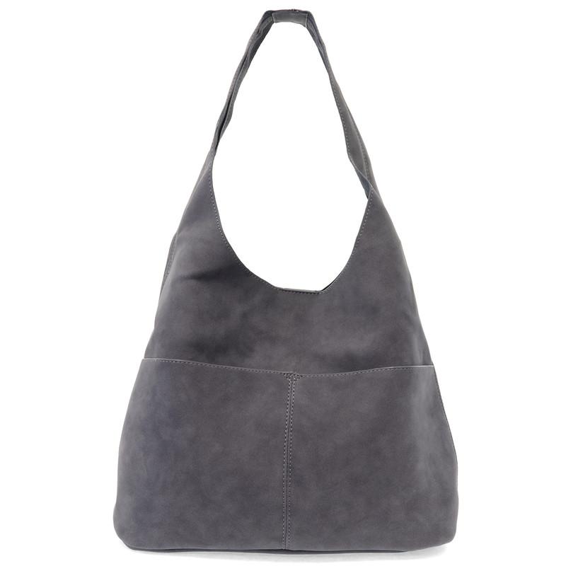 Joy Susan Jenny Hobo Handbag - Dark Chambray - L8039-06 - Main Image