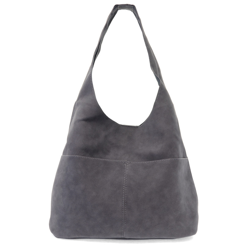 Joy Susan Jenny Hobo Handbag - Dark Chambray