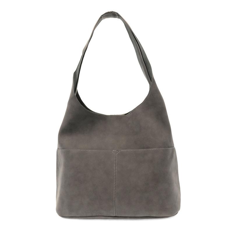 Joy Susan Jenny Hobo Handbag - Dark Grey