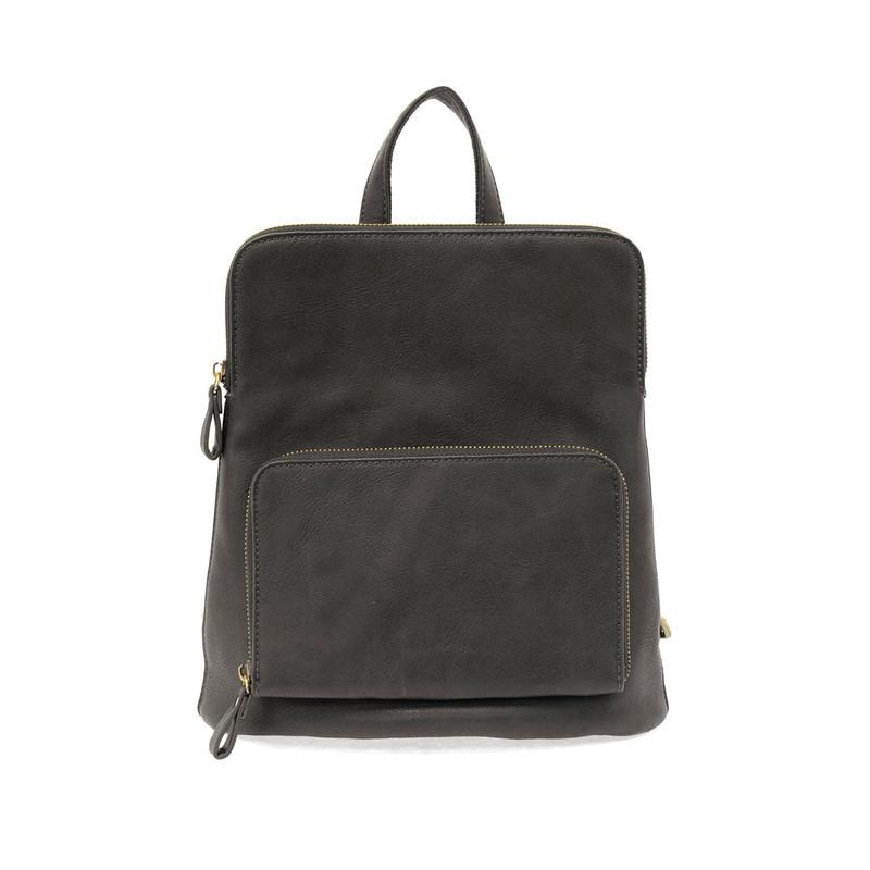 Joy Susan Julia Mini Backpack - Black - L8038-00 - Profile