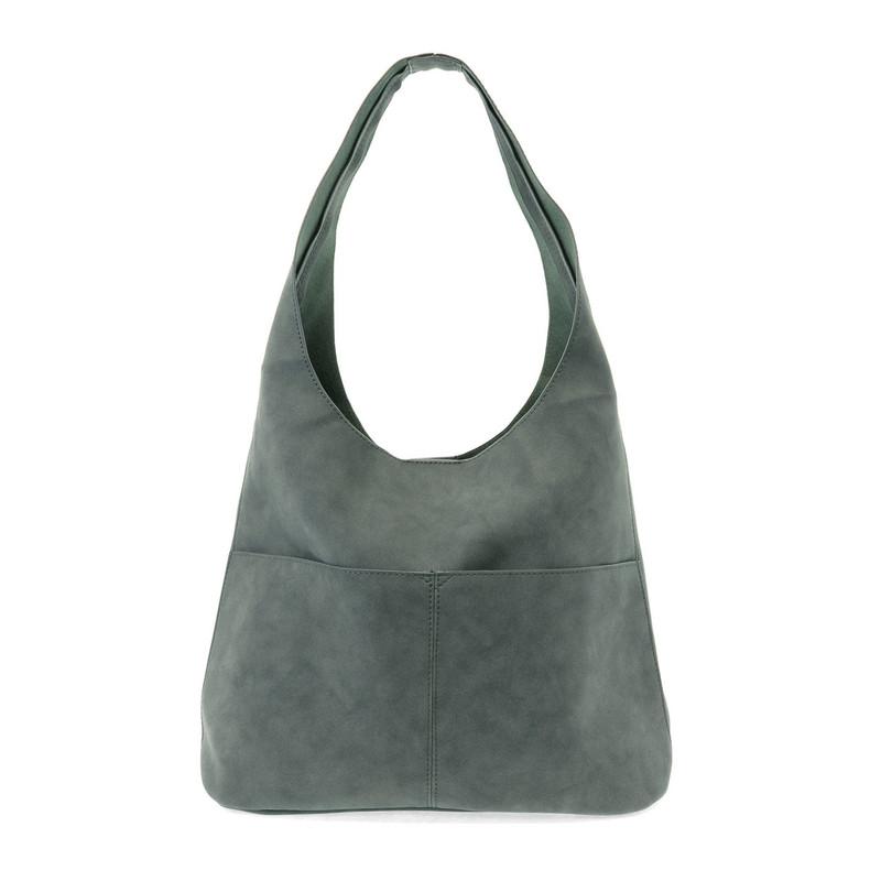 Joy Susan Jenny Hobo Handbag - Teal - L8039-09 - Profile