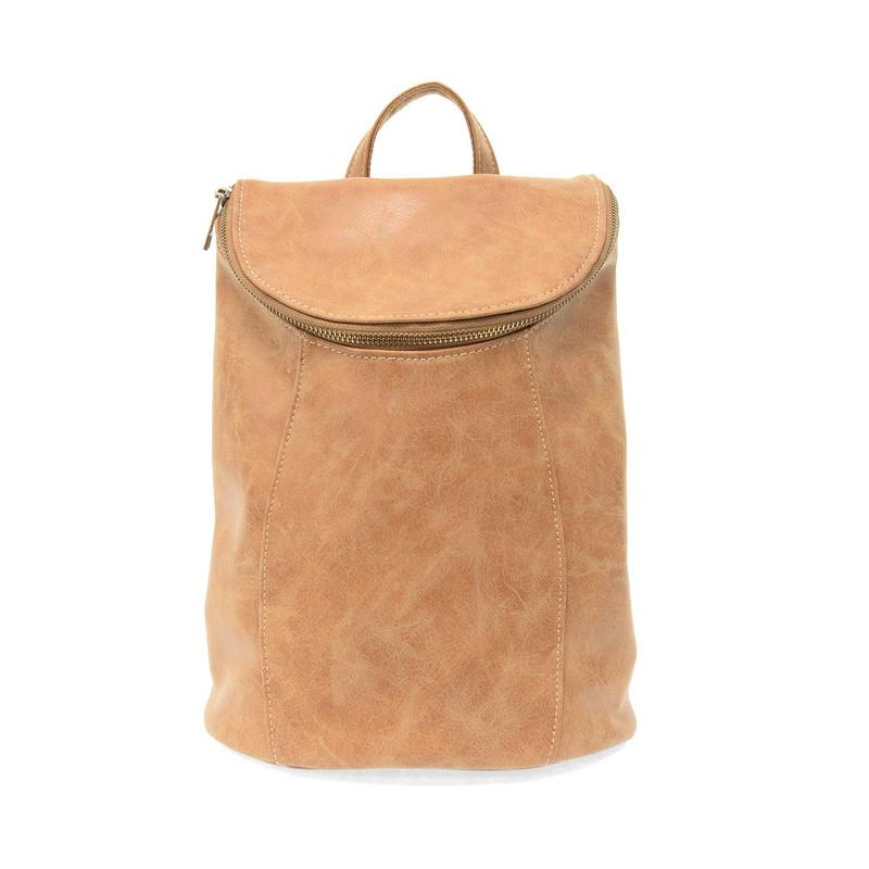 Joy Susan Alyssa Distressed Backpack - Walnut