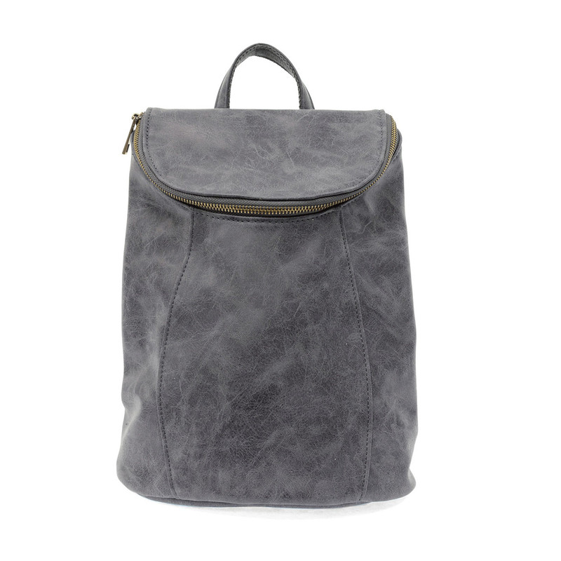 Joy Susan Alyssa Distressed Backpack - Indigo - L8040-07 - Profile