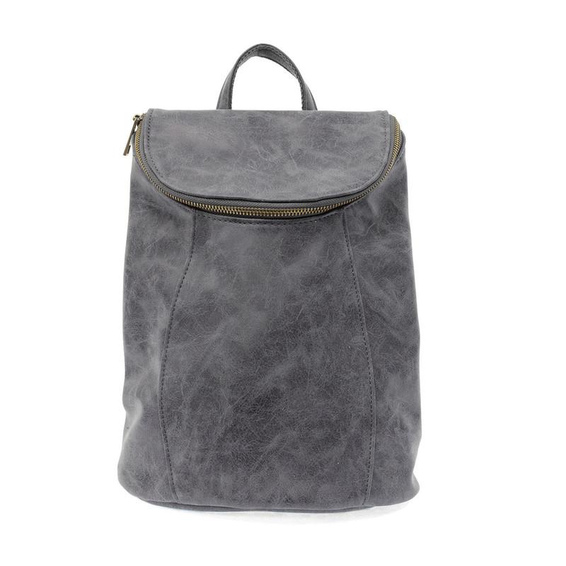 Joy Susan Alyssa Distressed Backpack - Indigo