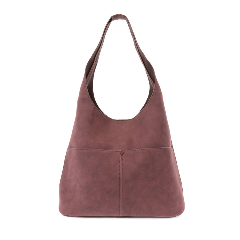 Joy Susan Jenny Hobo Handbag - Burgundy