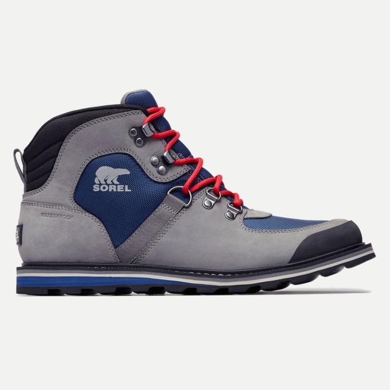 Sorel Men's Madson Sport Hiker Waterproof Boot - Carbon - 1808001-470 - Main Image