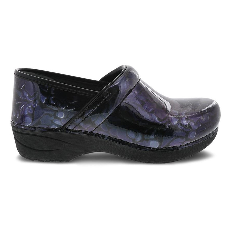 Dansko Women's XP 2.0 - Filigree Floral Patent 3950-710202 - Profile