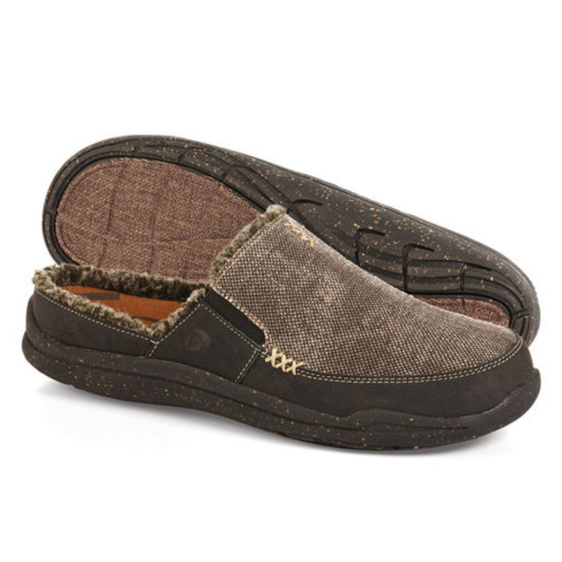 Acorn Men's Wearabout Slide Slippers - Stone Wash Black