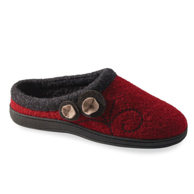 Acorn Women's Dara Slippers - Currant Button - A10151CUR - Profile