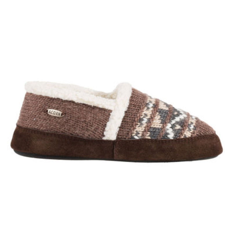 Acorn Women's Nordic Moc Slippers - Nordic Brown - A18605NOR - Profile