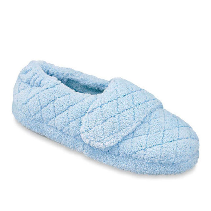 Acorn Women's Spa Wrap Slippers - Powder Blue - A10631AEV - Angle