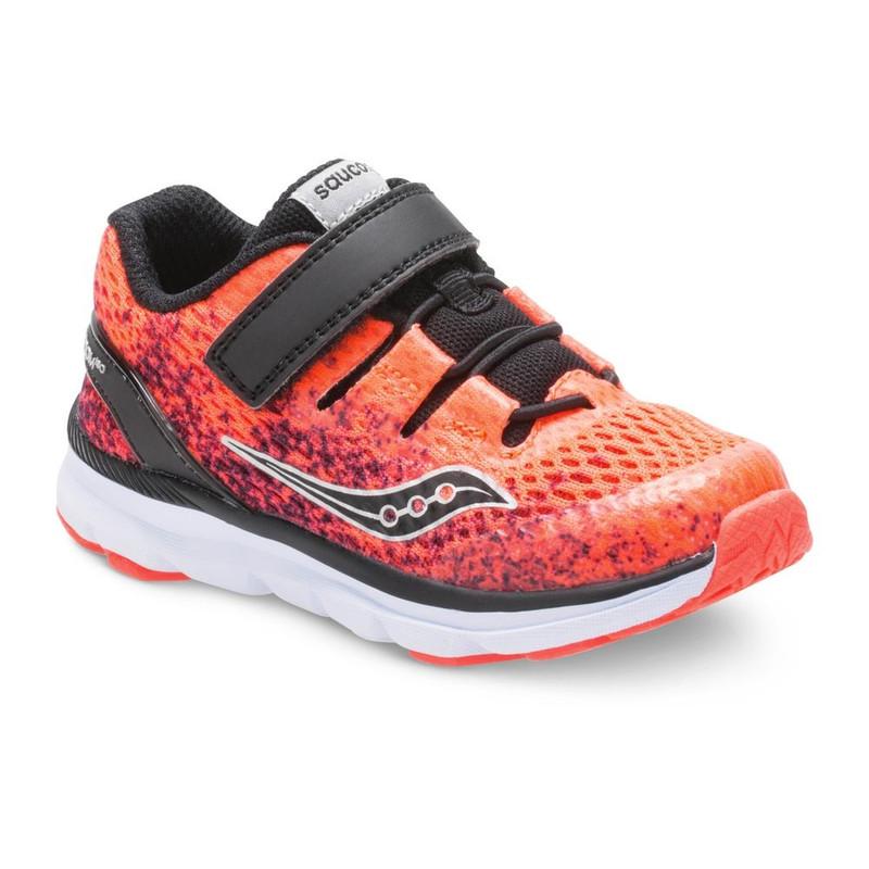 Saucony Baby Freedom ISO Sneaker - Vixi Red / Black - SL259646 - Front