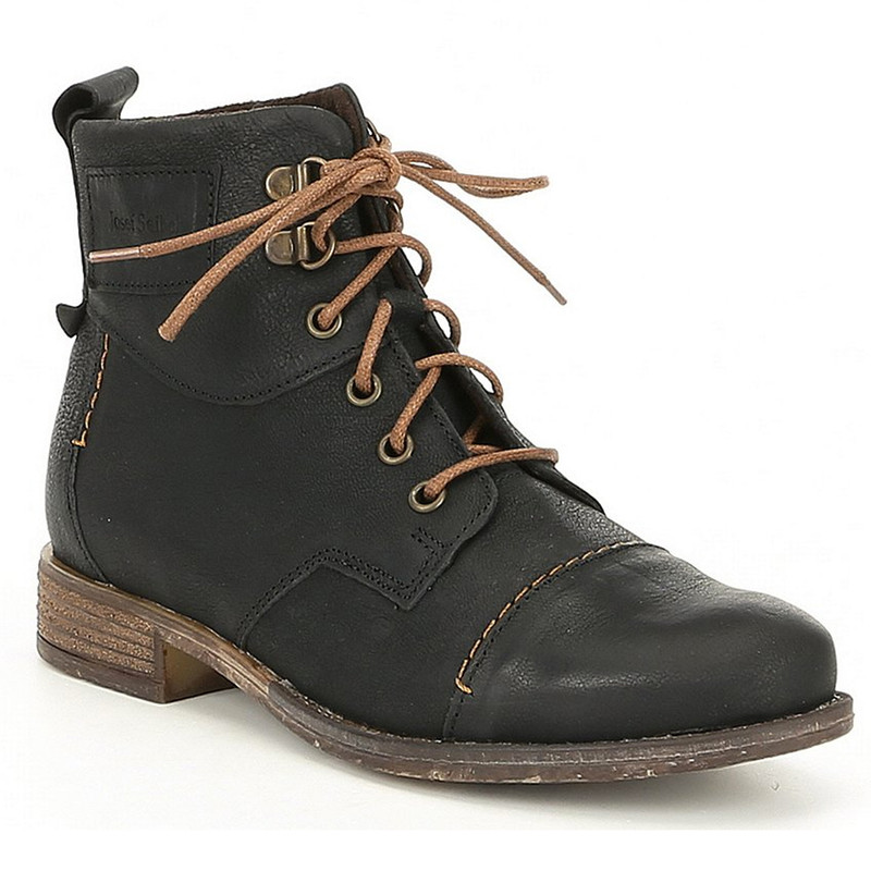 Josef Seibel Women's Sienna 17 Boot - Black - 99617-720100 - Main Image