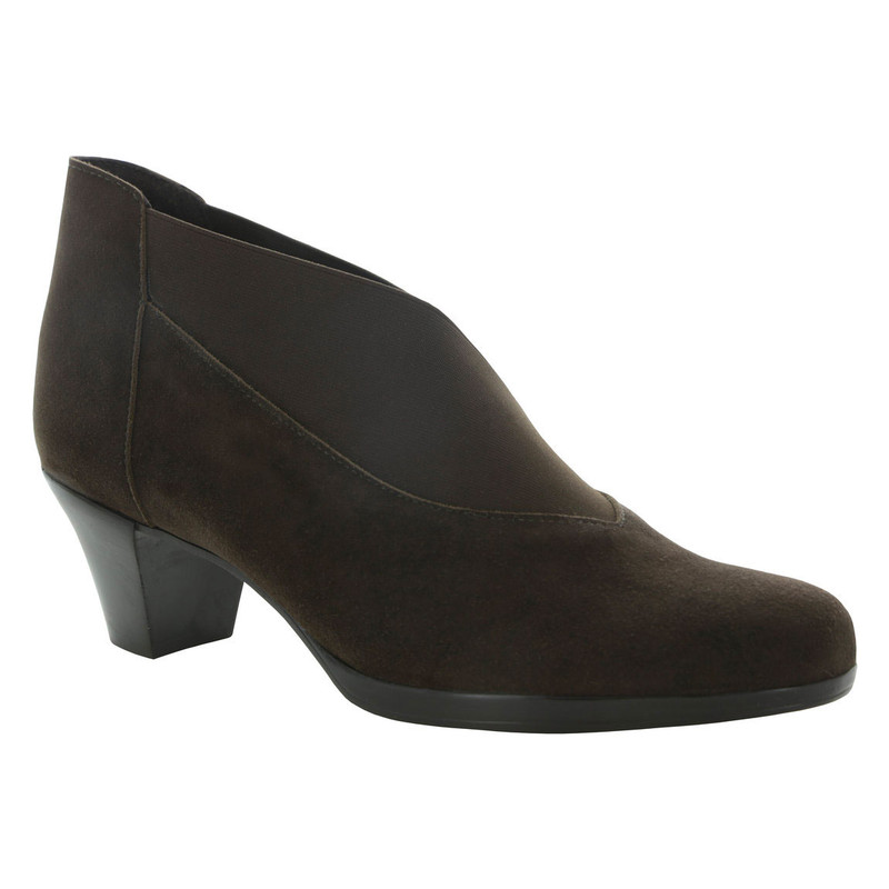 Munro Women's Francee - Brown Suede - M611826 - Angle