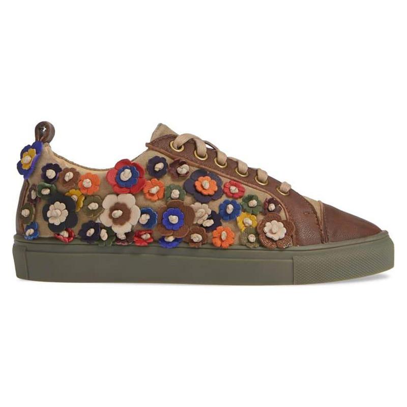 Sheridan Mia Women's Satyr Sneaker - Tan - SATYR/BROWN - Profile Image