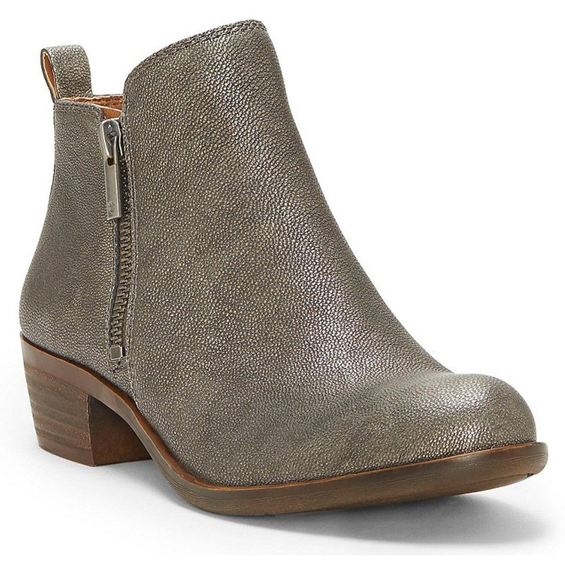 Lucky Brand Women's Basel Bootie - Pewter Rock