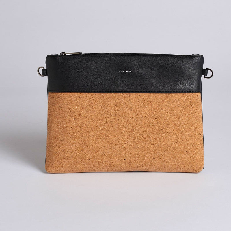 Pixie Mood Nicole Pouch Large - Black - Profile