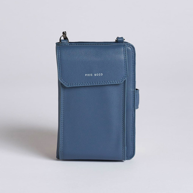 Pixie Mood Rae Phone Crossbody - Midnight Blue - Profile