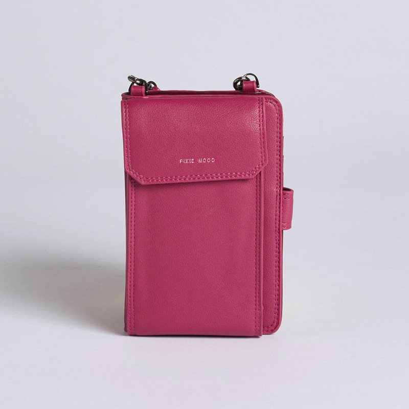 Pixie Mood Rae Phone Crossbody - Red Bean - Profile