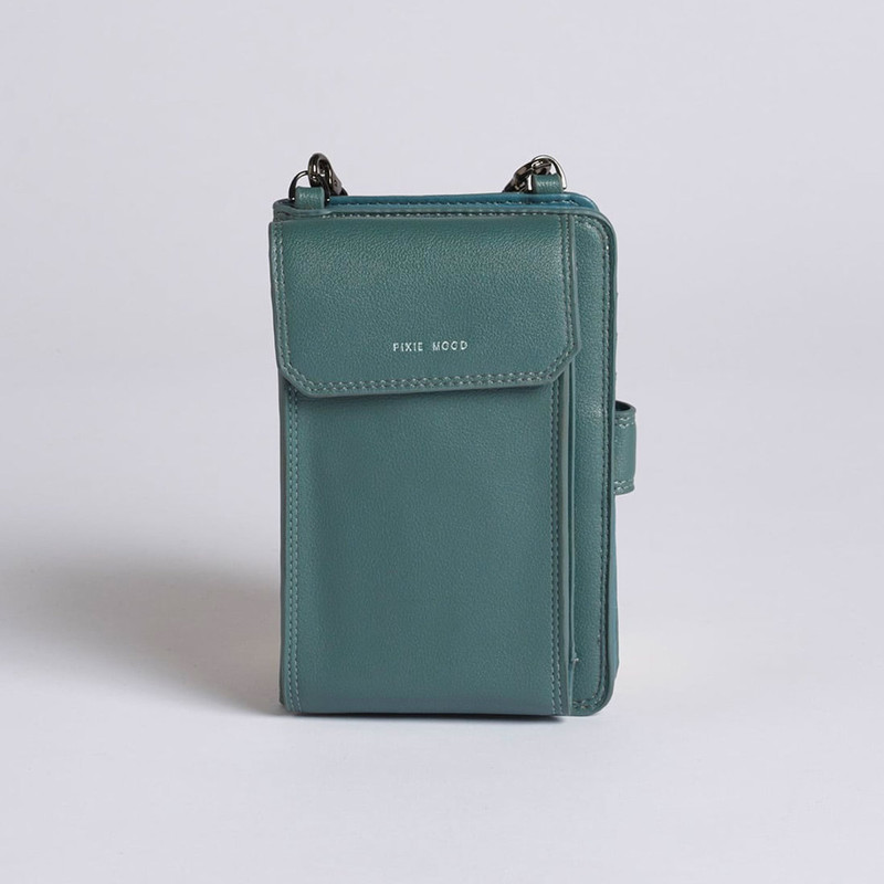Pixie Mood Rae Phone Crossbody - Spruce Green - Profile