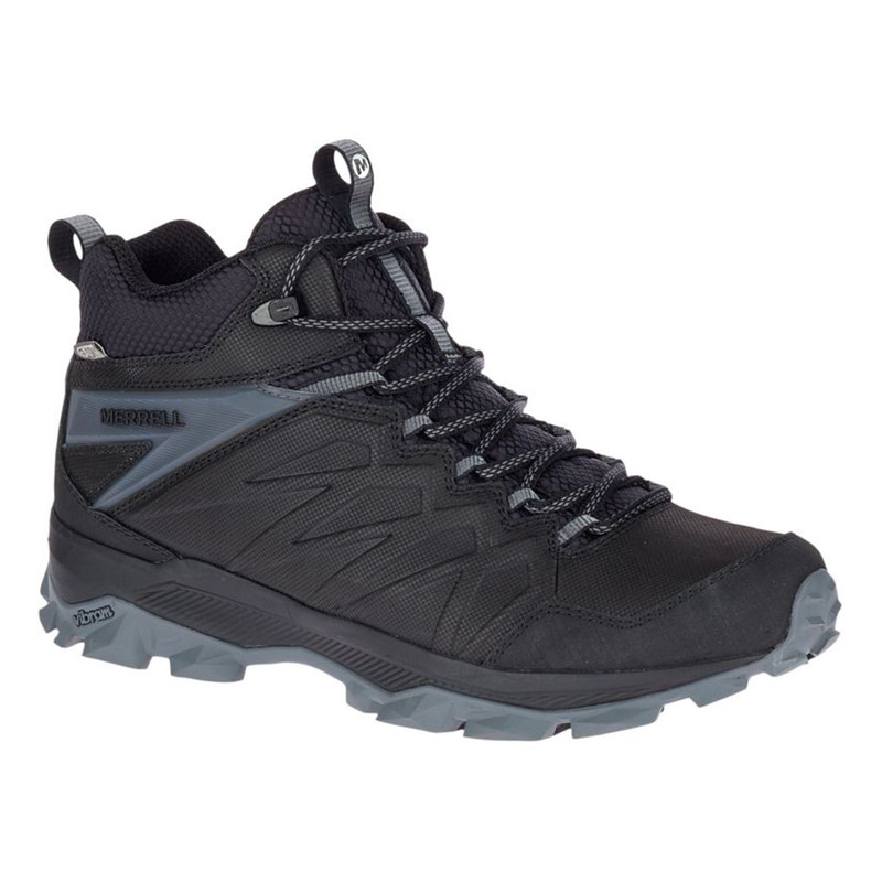 Merrell Men's Thermo Freeze Mid Waterproof - Black / Black - J42609 - Profile