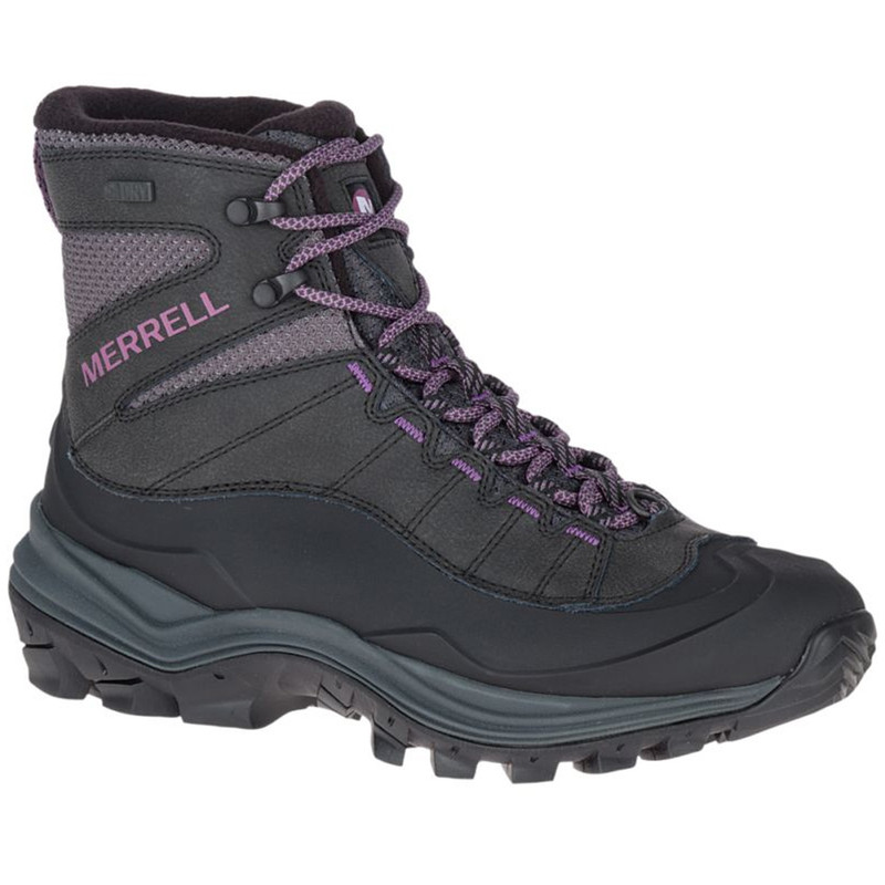 Merrell Women's Thermo Chill Mid Shell WP - Black - J16460 - Main