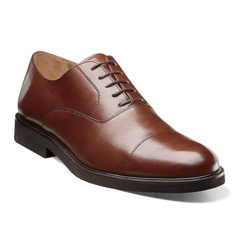 Florsheim Men's Gallo Cap Ox - Cognac