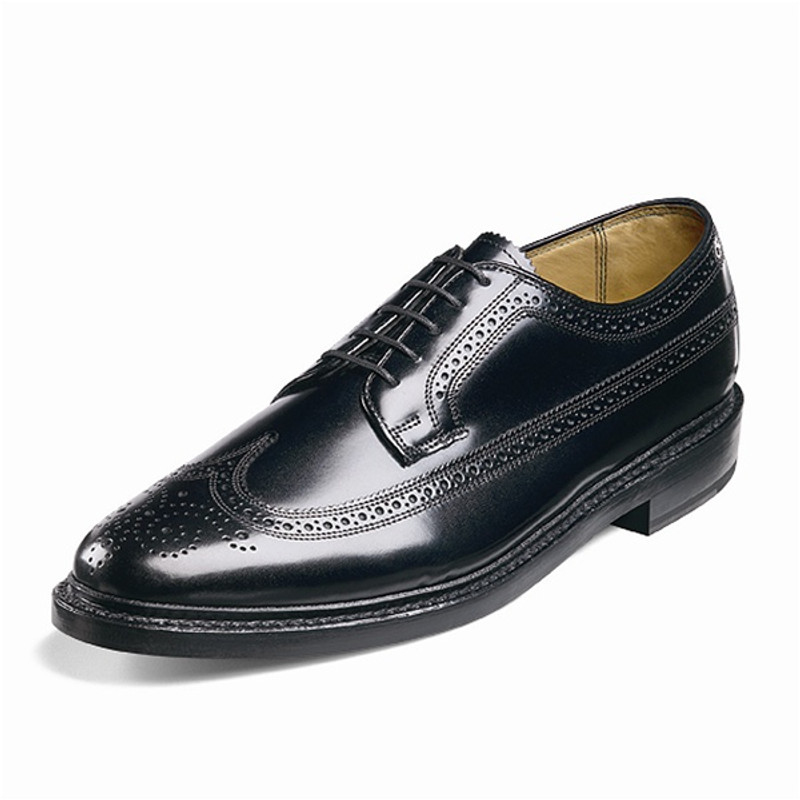 Florsheim Men's Kenmoor (Wing Tip Brogue) - Black