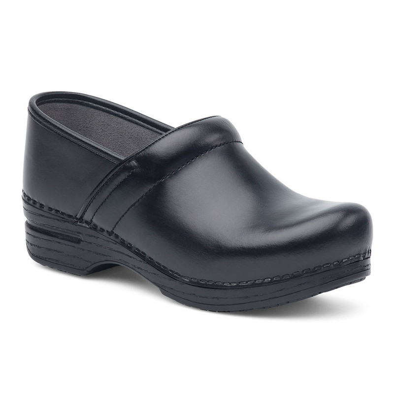 Dansko Women's Pro XP - Black Box Leather