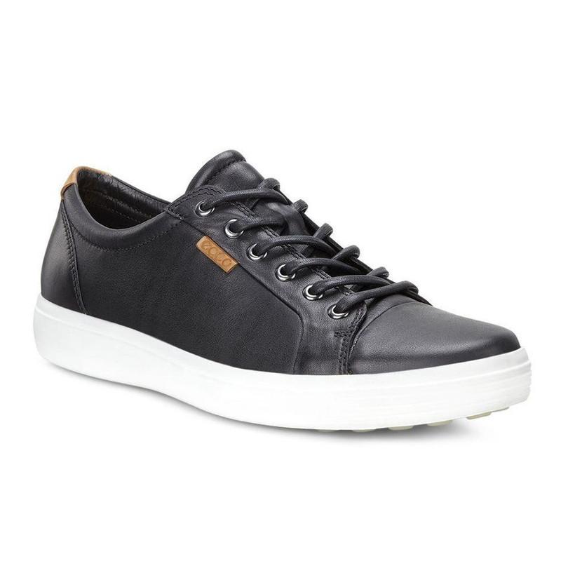 ECCO Men's Soft 7 Sneaker - Black