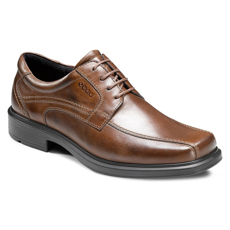 ECCO Men's Helsinki Bicycle Oxford Tie - Cocoa Brown