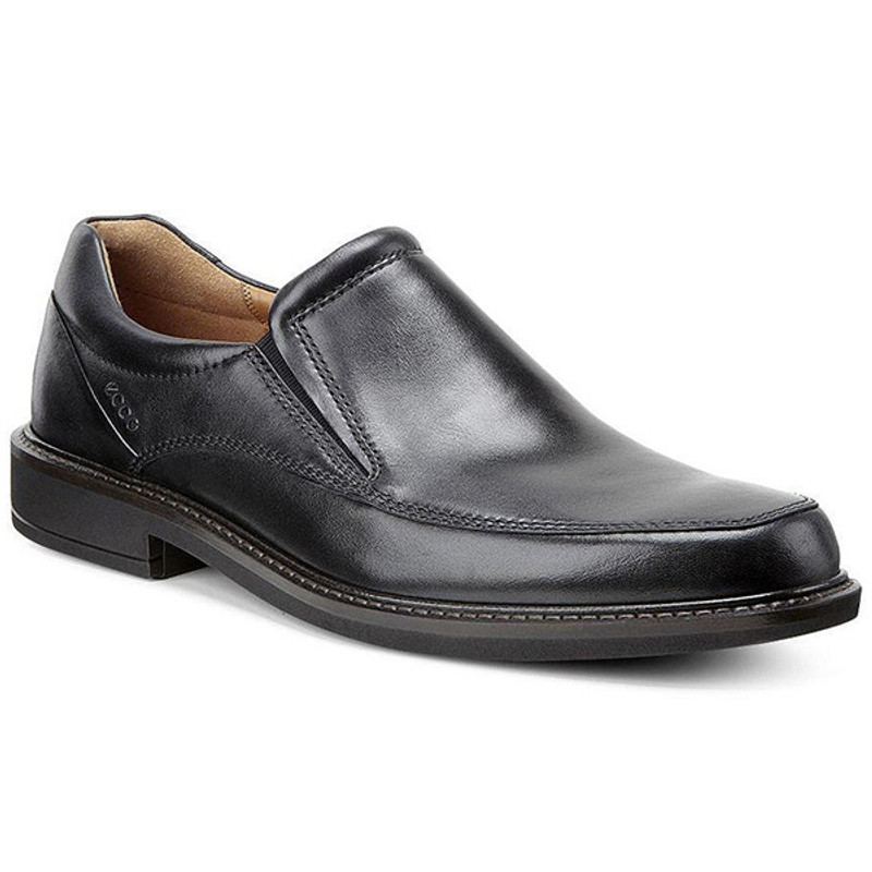 ECCO Men's Holton Apron Toe Slip On - Black