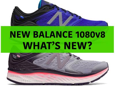 New Balance 1080v8 - What's New?