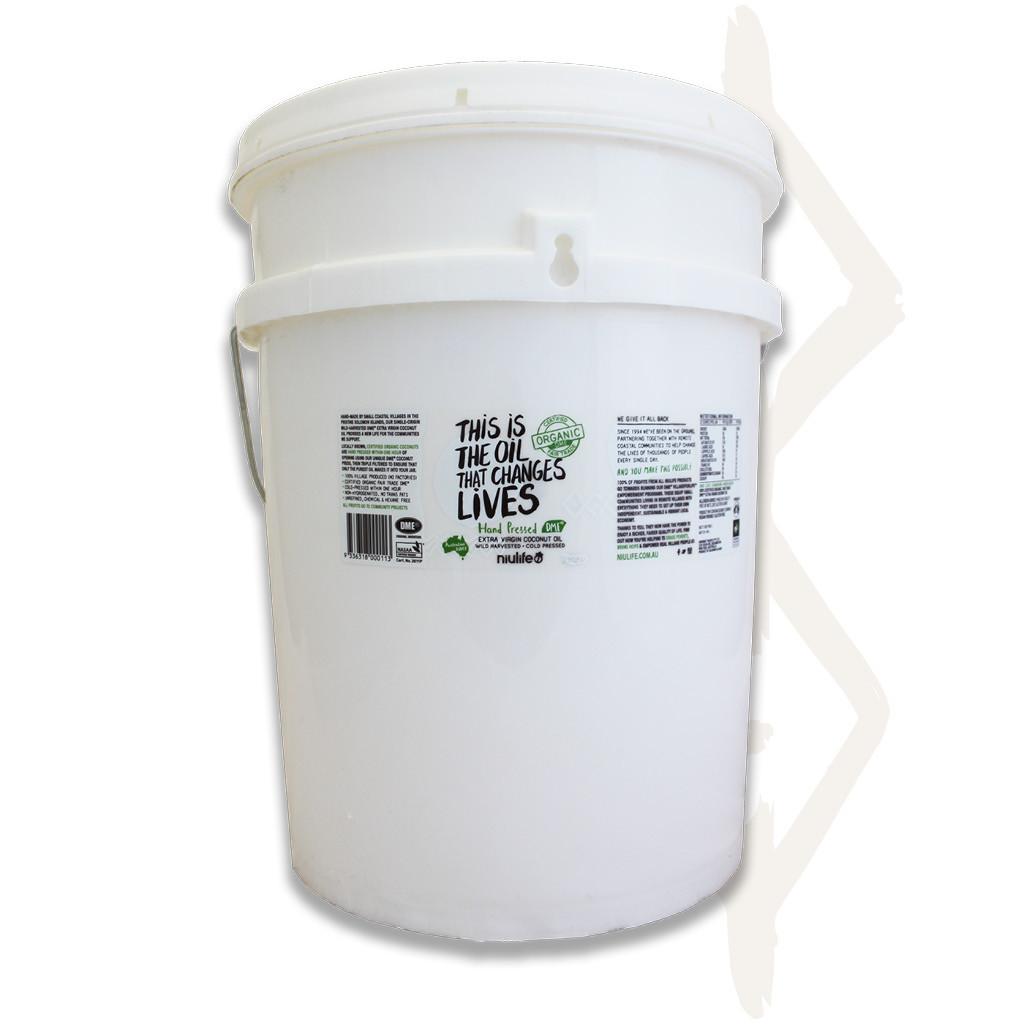 Virgin Coconut Oil - 20L Pail (Bulk Size)
