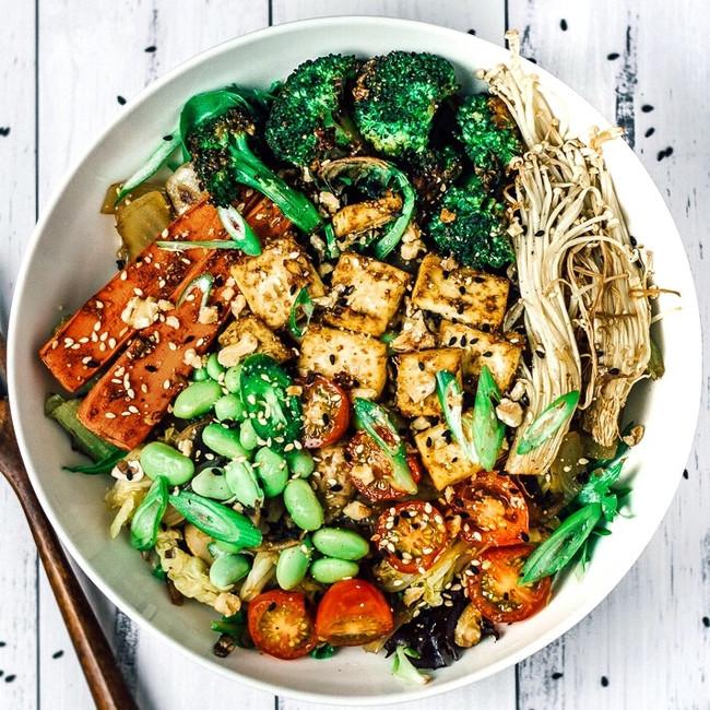Asian Inspired Nourish Bowl